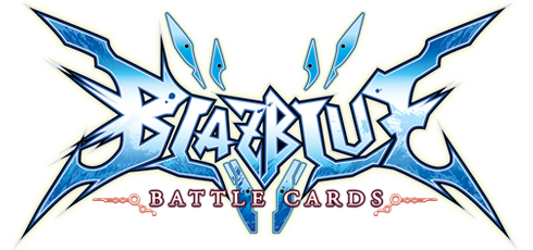 File:BlazBlue Battle Cards (Logo).png