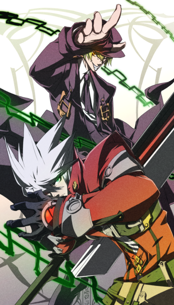 File:BlazBlue Chronophantasma Story Maniacs Material Collection II (Illustration, 25).png