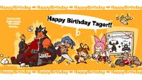 Iron Tager (Birthday Illustration, 2012)