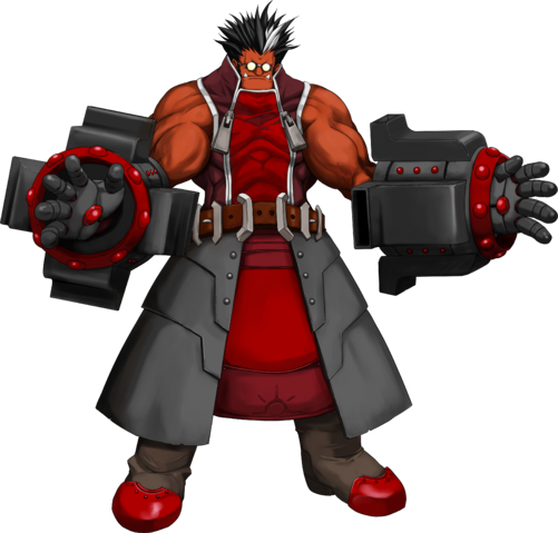 File:Iron Tager (Calamity Trigger, Character Select Artwork).png