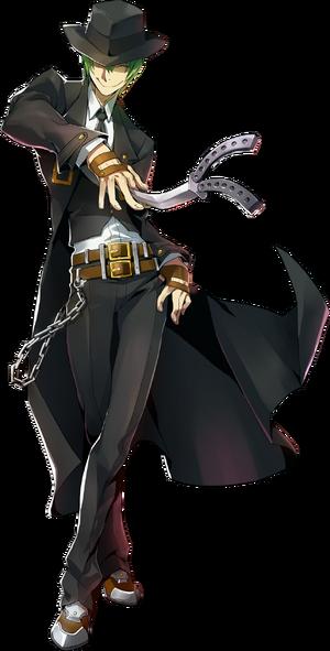 Hazama (Centralfiction, Character Select Artwork)
