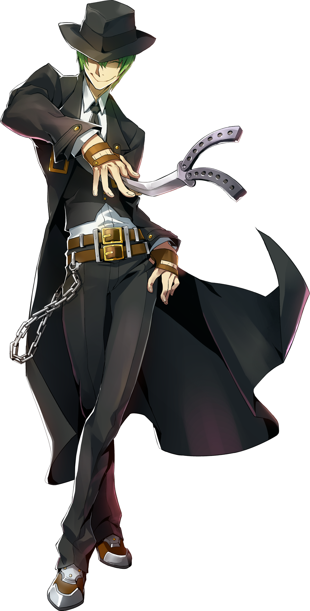 Hazama (Centralfiction, Character Select Artwork)