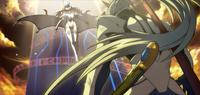 Hakumen (Continuum Shift, Arcade Mode Illustration, 2)
