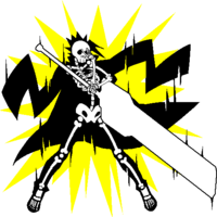 Kagura Mutsuki (Sprite, electrocuted)