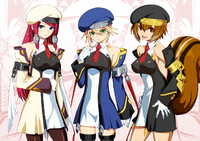 BlazBlue Chronophantasma Story Maniacs Material Collection II (Illustration, 23)