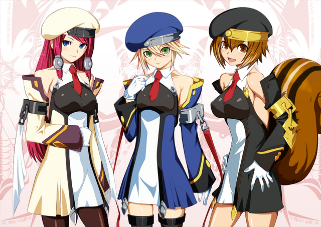 File:BlazBlue Chronophantasma Story Maniacs Material Collection II (Illustration, 23).png