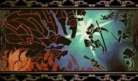 Hakumen (Calamity Trigger, Arcade Mode Illustration, 2)
