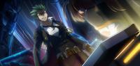 Hazama (Chronophantasma, Arcade Mode Illustration, 2)