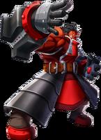 Iron Tager (Chronophantasma, Character Select Artwork)