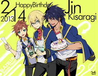 Jin Kisaragi (Birthday Illustration, 2013, Sumeragi)