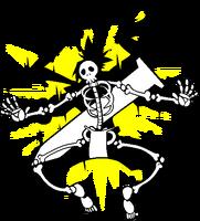 Bang Shishigami (Chronophantasma, sprite, electrocuted)