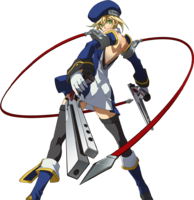 Noel Vermillion (Story Mode Artwork, Pre Battle)