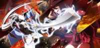 Hakumen (Centralfiction, arcade mode illustration, 2)