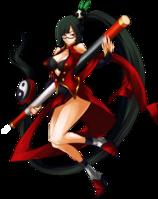 Litchi Faye-Ling (Continuum Shift, Character Select Artwork)