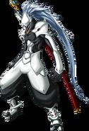 Hakumen (Calamity Trigger, Character Select Artwork)