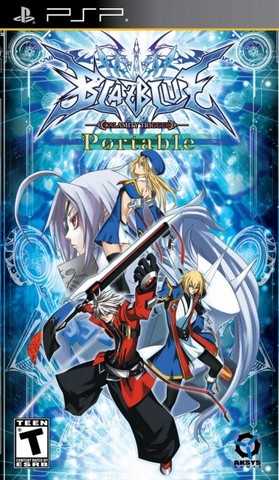 File:BlazBlue Calamity Trigger (PlayStation Portable, North American Cover).png