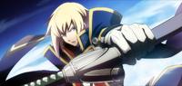 Jin Kisaragi (Chronophantasma, Arcade Mode Illustration, 3, Type B)