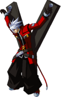 Ragna the Bloodedge (Sprite, Relius' Astral)