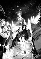 BlazBlue Phase Shift 3 (Black and white illustration, 4)