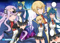 BlazBlue Remix Hearts Chapter 1 cover