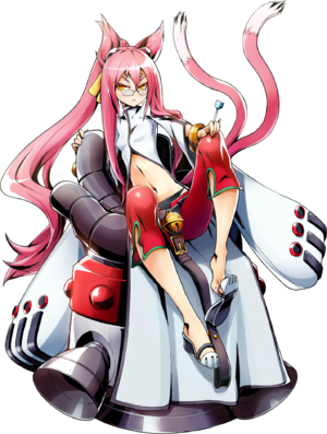 Kokonoe Mercury (Centralfiction, Character Select Artwork)