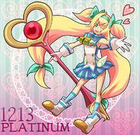 Platinum the Trinity (Birthday Illustration, 2011)