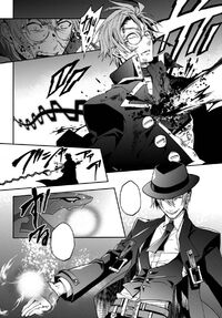 Seifer killed by Hazama