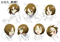 Hinata Himezuru (Concept Artwork, 6)