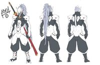 Hakumen (Concept Artwork, 2)