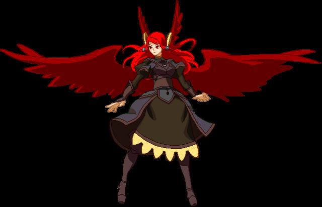 File:Tsubaki Yayoi (Chronophantasma Sprite, Astral Heat suit).png