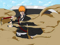 Ichigo's Post Dangai Shikai