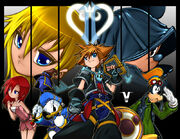 Kingdom Hearts by bleedman