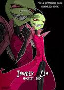 Invader Zim Unstoppable by Krusnik007
