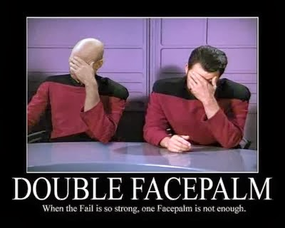 Image result for double facepalm