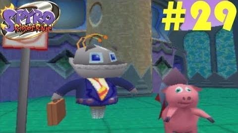 Spyro 2 Ripto's Rage! -- Part 29 Metropolis