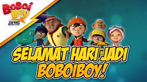 BoBoiBoy's 4th Anniversary