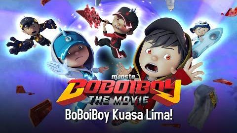 """""""BoBoiBoy Kuasa Lima!"""""""