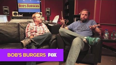 """BOB'S BURGERS Behind the Scenes of """"Late Afternoon in the Garden of Bob and Louise"""""""