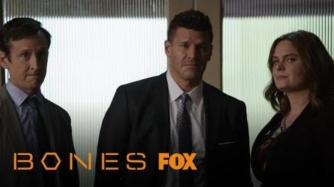 Brennan And Booth Break The Bad News To Barbara Baker Season 12 Ep. 3 BONES
