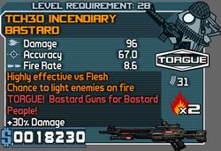 TCH30 Incendiary Bastard