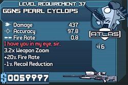 GGN5 Pearl Cyclops Lvl 37