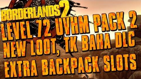 Borderlands 2 - Level Cap Increase, Upgraded Back Pack Slots AND MORE