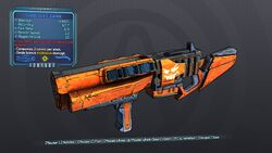 Casual Jack-o'-Cannon 70 Blue Explosive