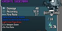 Krom's Sidearm