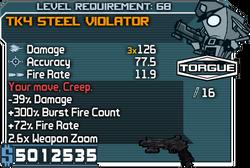 TK4 Steel Violator