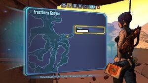 Borderlands2 frostburncanyon echo 3 map