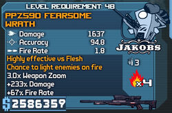 PPZ590 Fearsome Wrath