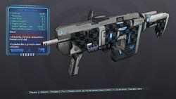 Refill Boxxy Gunn 63 Blue Shock