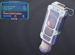 Grenade(Tediore) Sticky-Lobbed-Incendiary lvl9