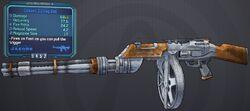 Gatling-Gun Cowboy lvl9